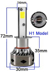светодиодные h1 лампы